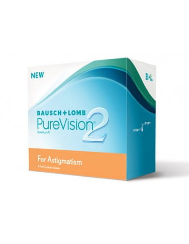 Pure Vision 2HD for Astigmatism 6 szt.