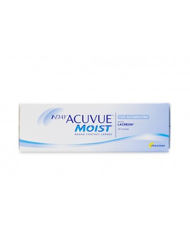 Acuvue® 1-DAY Moist for Astigmatism...